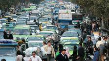 چهار خودرو به ازای هر ده نفر در تهران