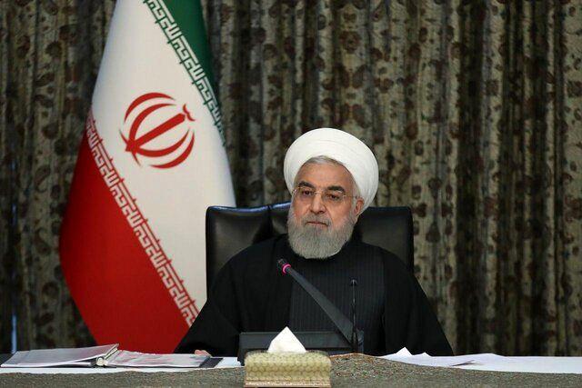 روحانی: تحریم و کرونا نتوانست ما را متوقف کند