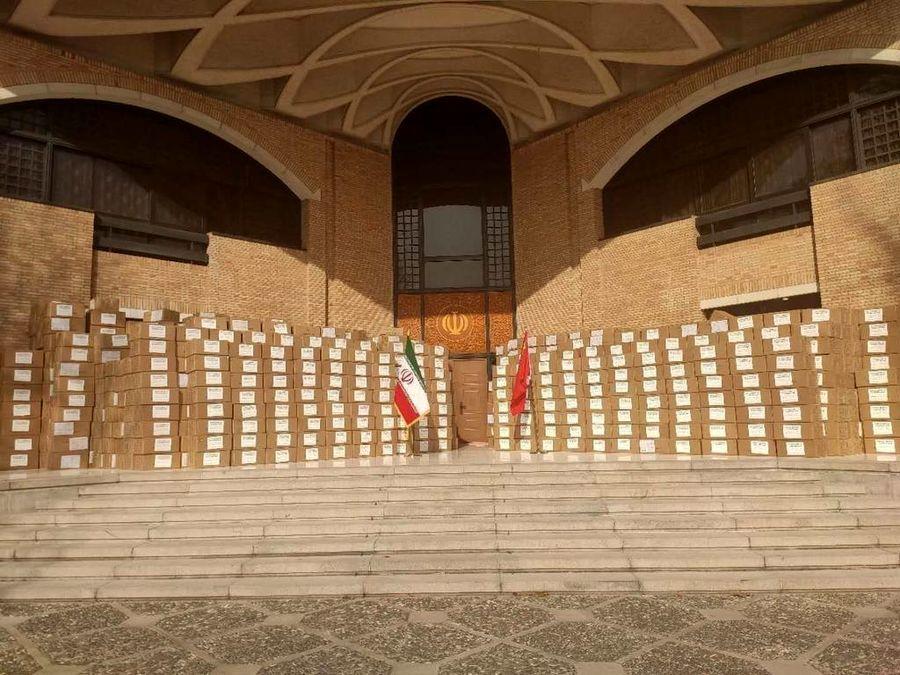 چین 350 هزار کیت تشخیص کرونا را به ایران فرستاد