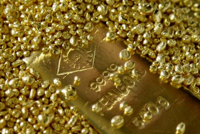قیمت جهانی طلا امروز ۹۹/۰۳/۰۳