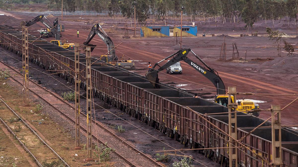 آمار واردات سنگ آهن به چین