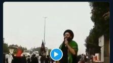 اعتراض ضدایرانی مردم عراق+فیلم