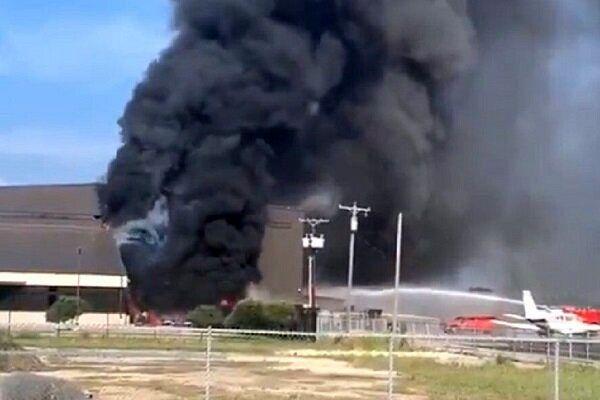 سقوط مرگبار هواپیما در تگزاس امریکا