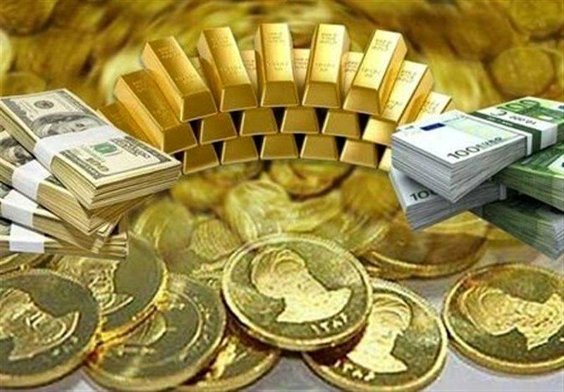 قیمت طلا، سکه و ارز امروز ۹۹/۰۷/۰۱
