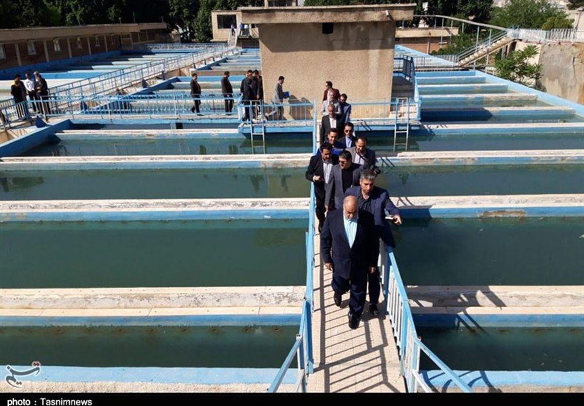 کیفیت آب شرب جنوب شرق تهران افزایش یافت
