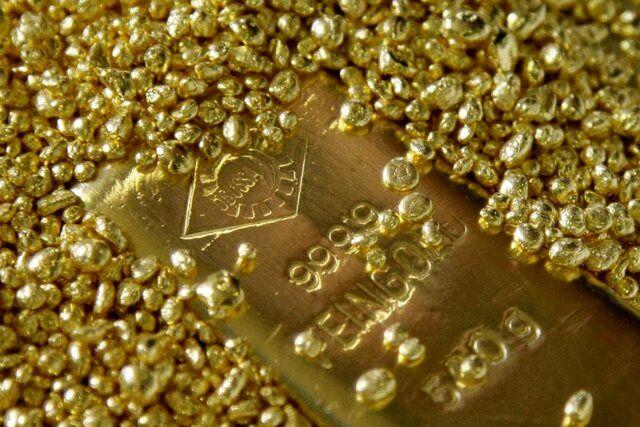 کف قیمت طلا بالا رفت
