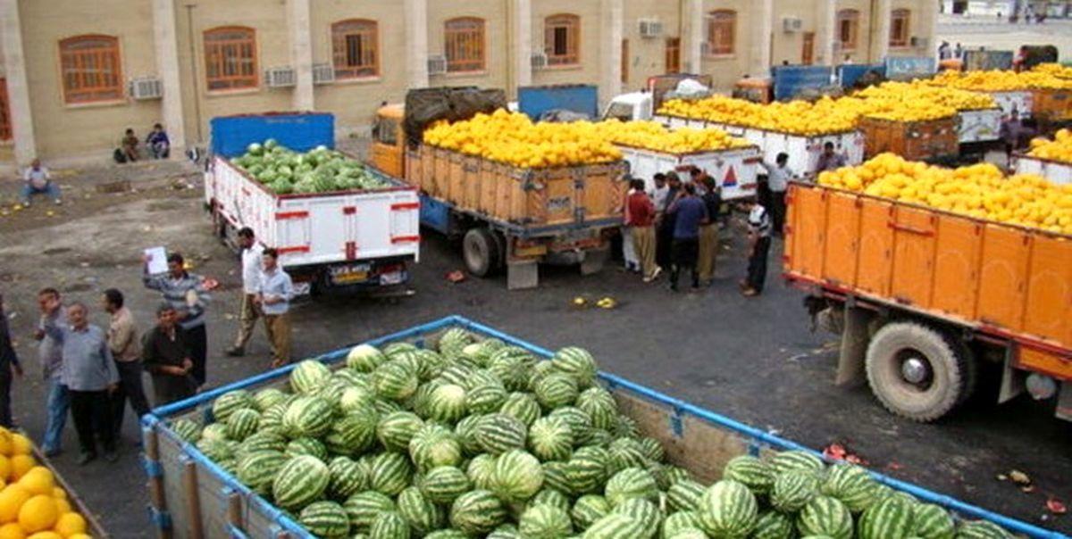 افت ۱۷درصدی صادرات محصولات کشاورزی و غذایی به عراق
