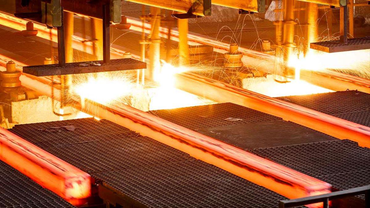 ایران بیش از ۷۲ درصد فولاد خاورمیانه را تولید میکند