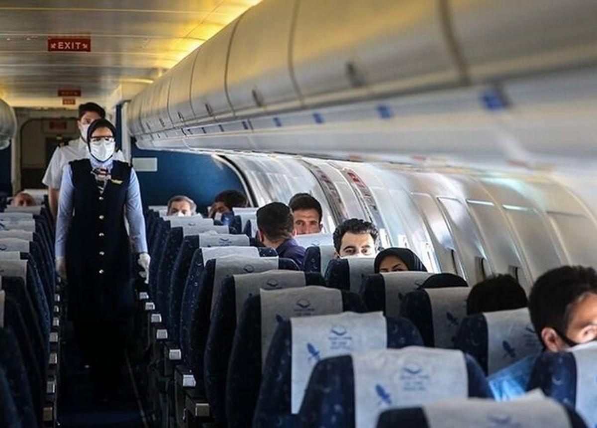 قیمت بلیط هواپیما برای شرکت در اربعین باید کنترل شود