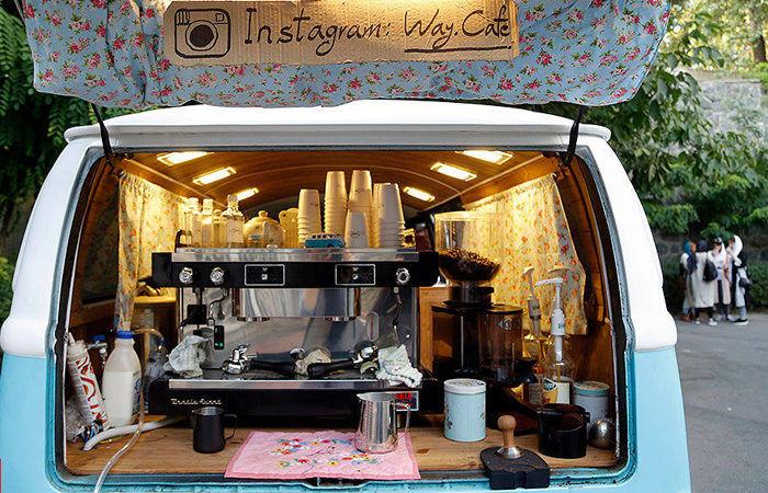 با 150میلیون تومان صاحب کافه ون شوید!