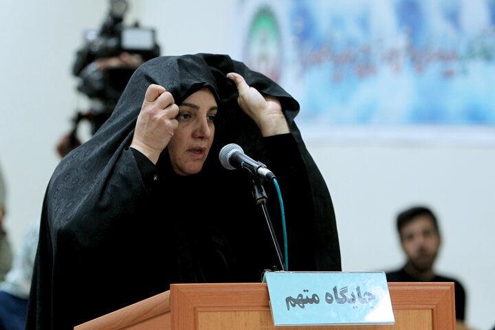 هدیه لوکس شبنم نعمتزاده به یک متهم ارزی