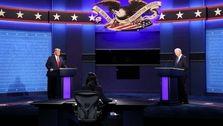 آخرین مناظره نامزدهای انتخابات ۲۰۲۰ آمریکا؛ میکروفونهای خاموش