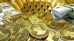 سقوط آزاد طلا و سکه در بازار/ کاهش شدید بهای دلار و یورو