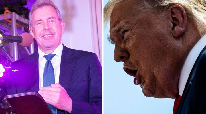 لو رفتن پیام های محرمانه سفیر انگلیس درباره ی ترامپ