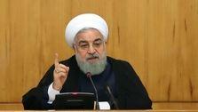 روحانی : باید برای رفع تحریم ها تلاش کنیم