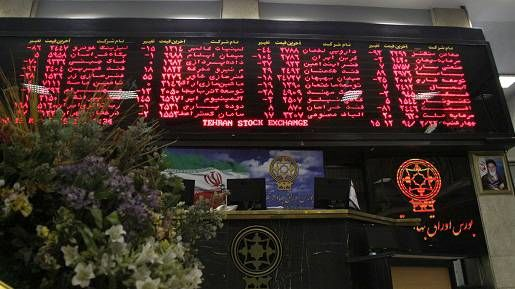 رشد ۲۳۳ واحدی بورس تهران