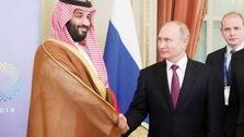 تماس سران روسیه و عربستان درباره کاهش تولید نفت