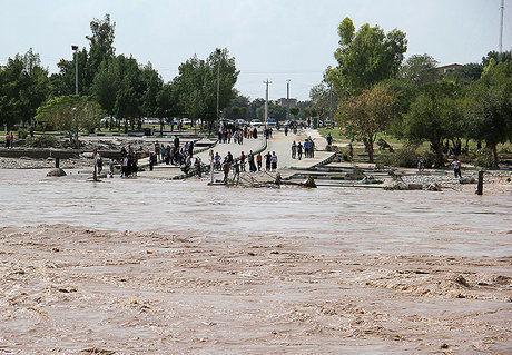 مسدود شدن ۱۴۰ راه روستایی و خسارت ۶۰۰ میلیاردی سیل