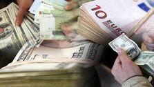 قیمت خرید ارز در بانک ها بالا رفت