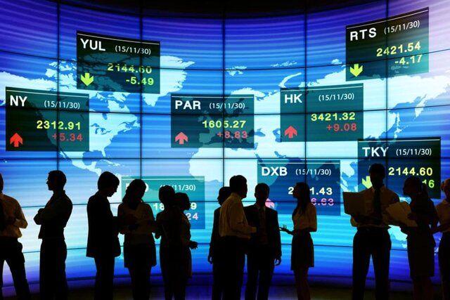 نگاهی به عملکرد بورسهای جهانی در ماه دسامبر